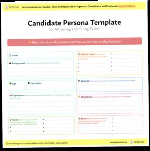 Bondsai Candidate Persona Template