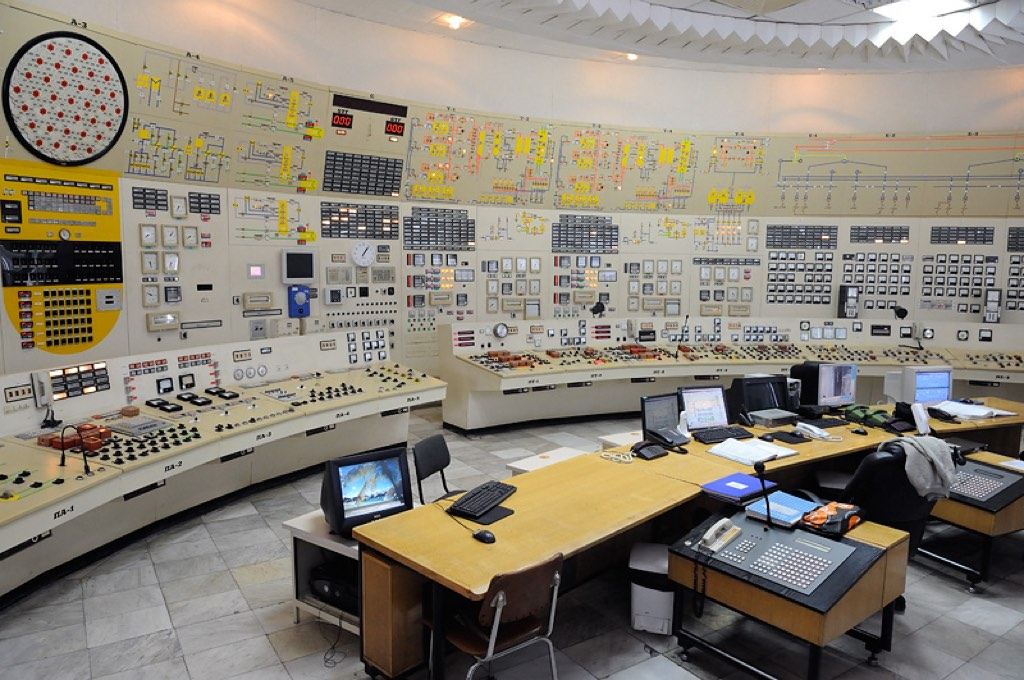 Kozloduy Nuclear Power Plant - Control Room of Units 3 and 4