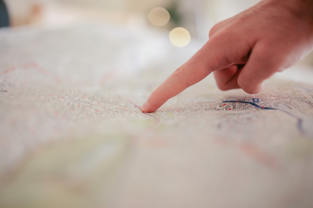 Tracing a map