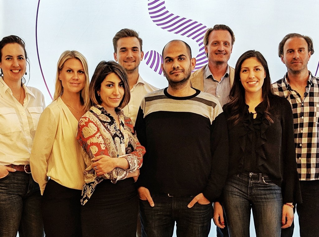 Members of Fredric's teams that design and run many processes: Sofia Jägerlind (Leadfront), Madeleine Dernsjö (Stormfors), Maddja Nazari (Leadfront), Niklas Hargell (Leadfront), Amjad Khalil (Stormfors), Fredric Örup (Stormfors), Pamela Hinojosa (Leadfront), Petter Plöjel (Stormfors)