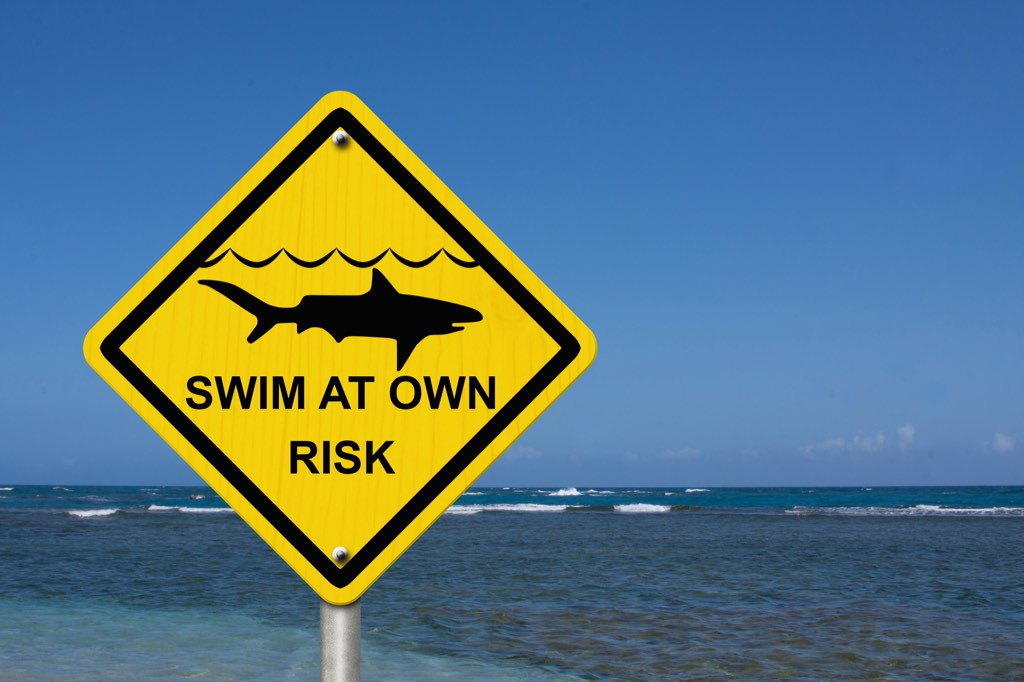 Feel like taking a long swim far from shore? Didn't think so. Precautions are useful when you determine client value too.
