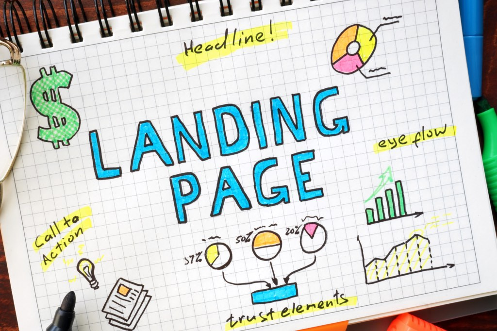 An effective landing page is a great way to market and sell your productized service.