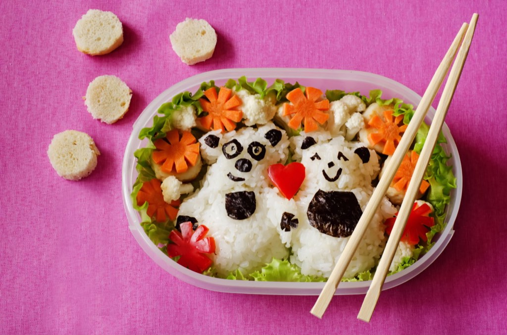 Bento boxes combine delicious food with a beautiful and sometimes playful presentation. It's one way to make beauty part of the customer experience.