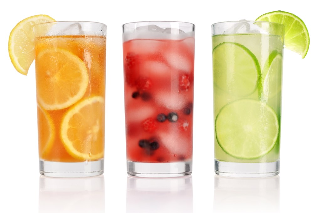 Cold welcome drinks are an appreciated part of the experience of being a customer at a resort.