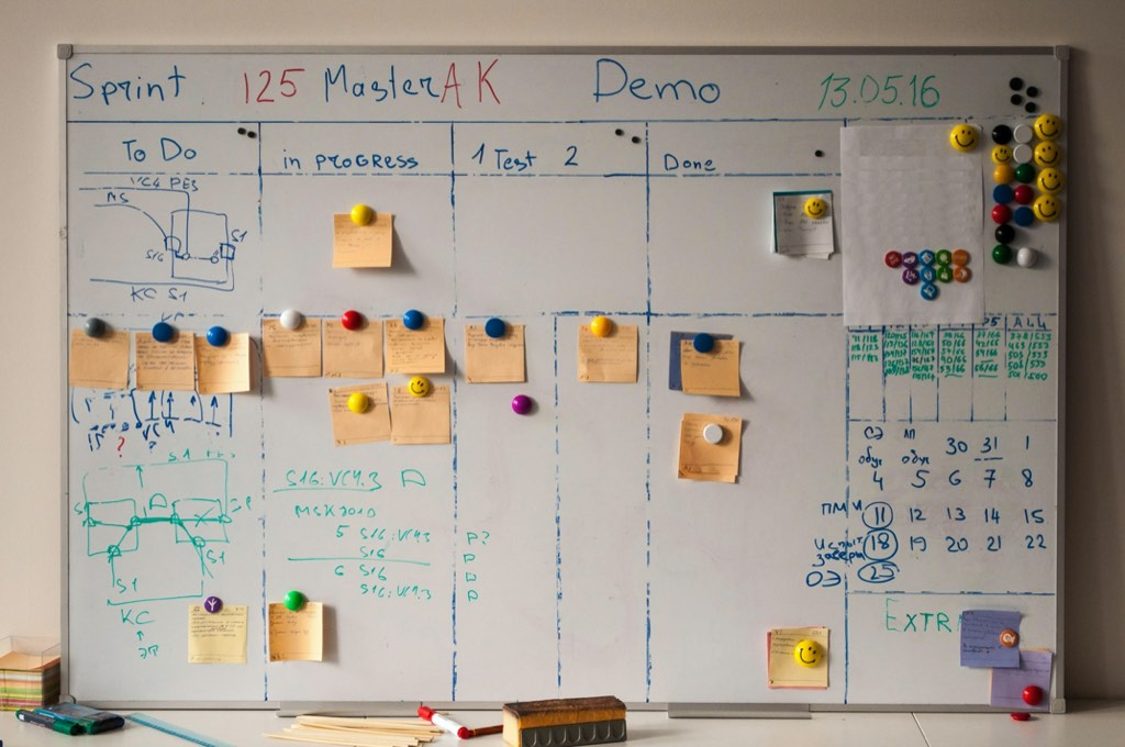 "The typical scrum board with work in progress and ""user stories"" with work estimates in ""story points."" Those are fantastic ideas, but only work as long as effort and billing aren't linked. Otherwise the discussion will only be about ""costs,"" not the value the team creates."